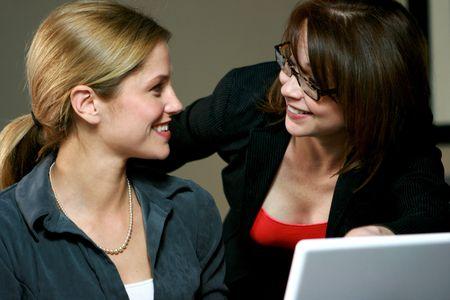 Businesswoman Team photo
