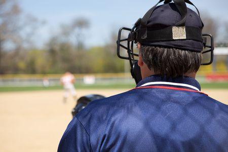 an umpire: Umpire Calling Game