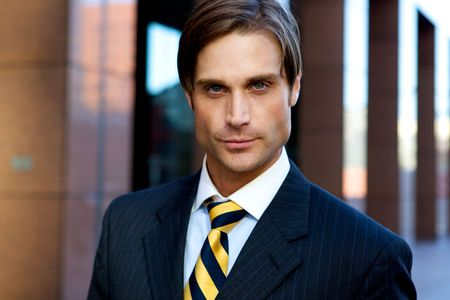 Attractive Businessman Stock Photo - 4975247