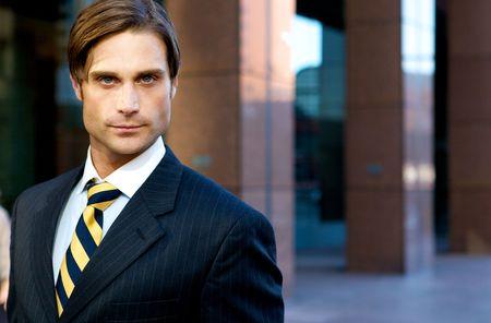 Attractive Businessman Stock Photo - 4975250