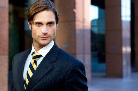 Attractive Businessman Stock Photo - 4975251
