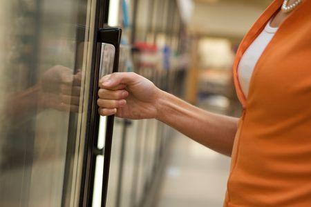 Supermarket Shopper Stock Photo - 4975320