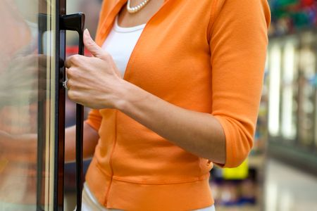 Supermarket Shopper Stock Photo - 4975319