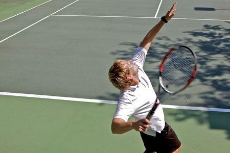 테니스 선수 스톡 콘텐츠