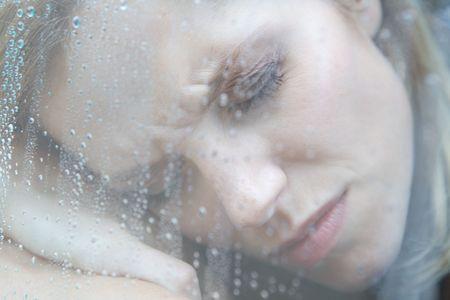 Unhappy Depressed Woman Stock Photo - 5024155