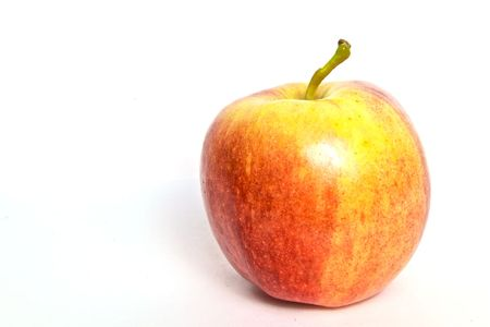 A delicious closeup of an apple with background Reklamní fotografie