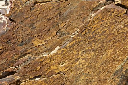 grooves: Brown Granite Background with grooves and cracks