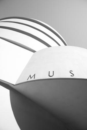 the Guggenheim museum, in New York City. photo