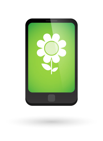 osolated: Illustration of an osolated phone icon