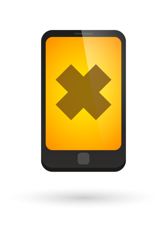 harmful to the environment: Illustration of an isolated phone icon