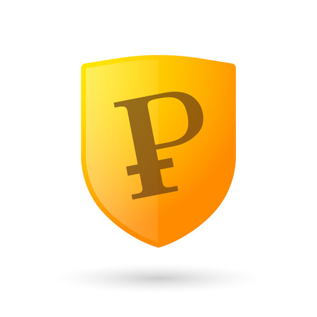 Illustration of an isolated profit icon Vector