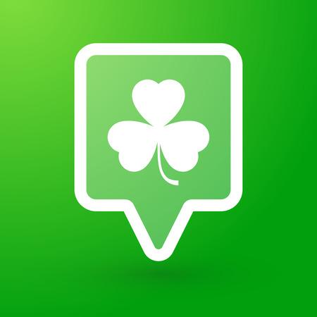 tooltip: Illustration of a tooltip with a leaf Illustration