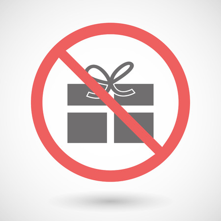 Illustration of a forbidden signal with a present Vector