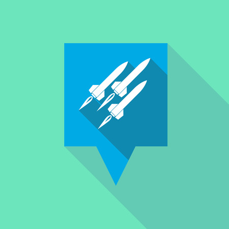 missiles: Illustration of a tooltip icon with missiles