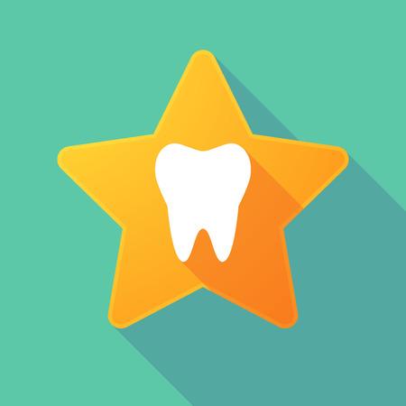 치아와 긴 그림자 스타의 그림