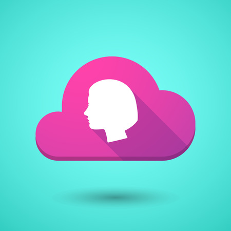 cabeza femenina: