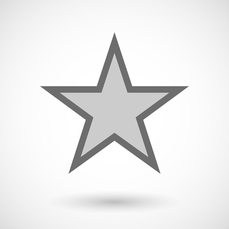 communism: Illustration of  the red star of comunism icon