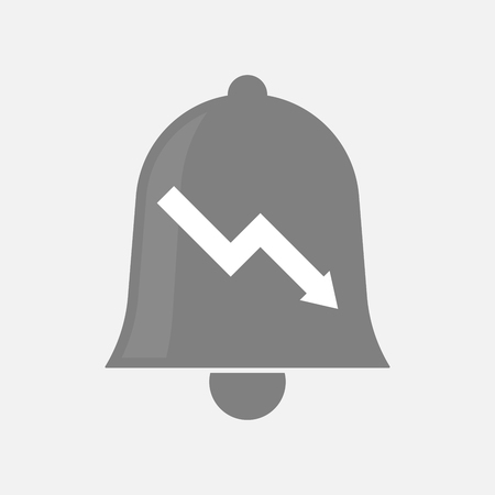 Illustration of an isolated bell with a descending graph