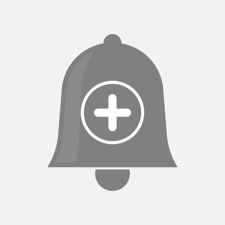 addition: Illustration of an isolated bell with a sum sign