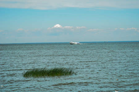 Hydrofoil sailing on the Gulf of Finland in the summer Reklamní fotografie