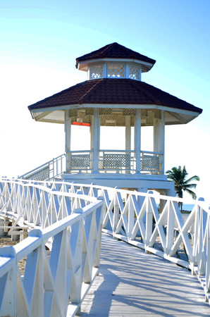 love dome: Beach wedding