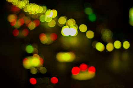 Christmas colorful abstract background in defocus shot closeup photo