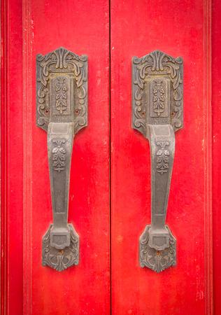 kelet ázsiai kultúra: A vörös fából készült ajtó kínai és kelet-ázsiai kultúra