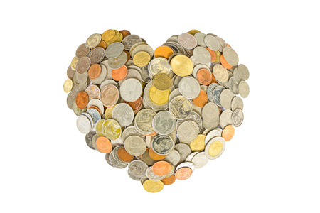 Background Bath currency, which is the currency of Thailand. photo