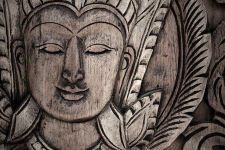 lord buddha: Close up Traditional Thai style Lord Buddha