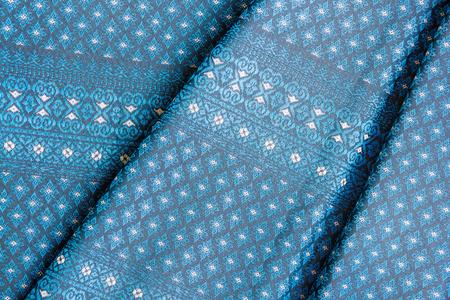 Beautiful traditional fabric Thai design photo