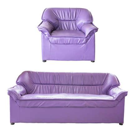 sofa furniture isolated on white background photo