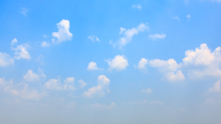 cloud formations: deliberately blurred cloud formations as an abstract background Stock Photo