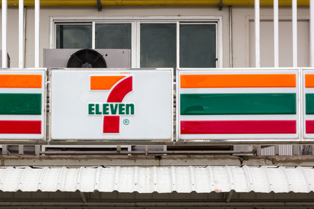 largest: Nakhon Ratchasima, THAILAND - Nov 10, 2015 : 7-Eleven, convenience store with largest number of outlets in Thailand. Editorial