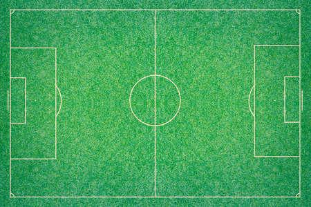 sideline: A artificial textured grass football  soccer field.