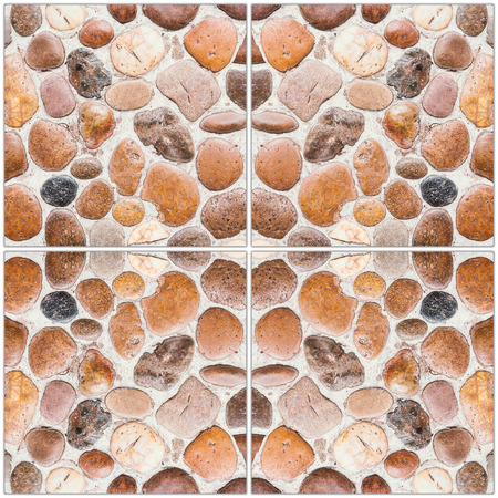 stone floor tile texture. Pebble Stone Floor Tile Texture And Background Photo Stone Floor Tile Texture And Seamless Background Stock Photo