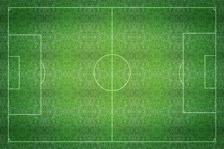 campo di calcio: Un erba texture campo di calcio calcio artificiale.