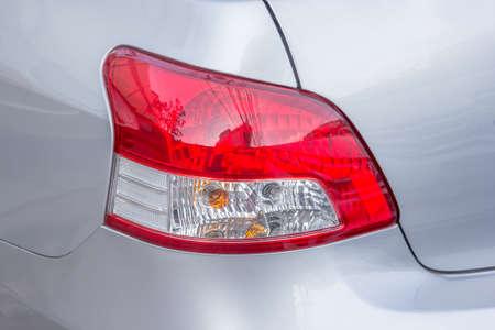 tail light: Closeup of  car tail light.