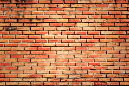 brick red: Grunge brick wall, Red brick texture