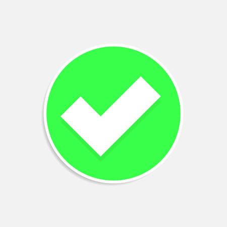 polls: Check mark or tick icon in green circle.