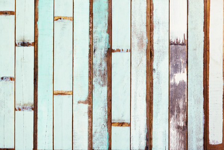 wood surface: Surface of painted old wood.