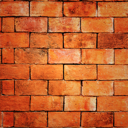 old brick wall: Old vintage brick wall textures for background