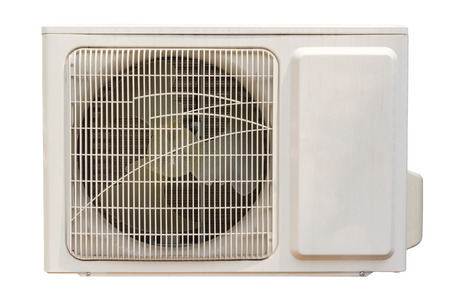 condenser: Condenser fan air through the use of old rust