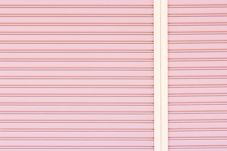tile cladding: corrugated metal background and texture surface Stock Photo