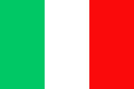italian politics: Flag of Italy. Italy flag vector illustration. Illustration
