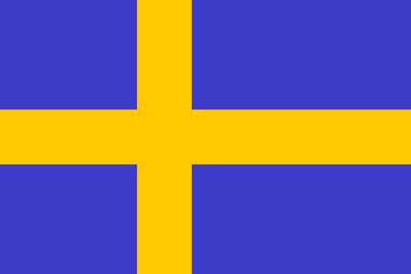 bandera suecia: Bandera de Suecia. Suecia de ilustraci�n vectorial.