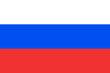 russia: Flag of Russia. Russia flag vector illustration.
