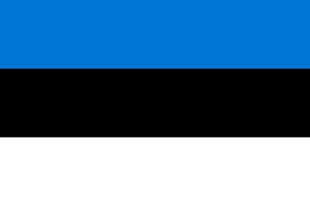 estonia: Official flag of Estonia country Illustration