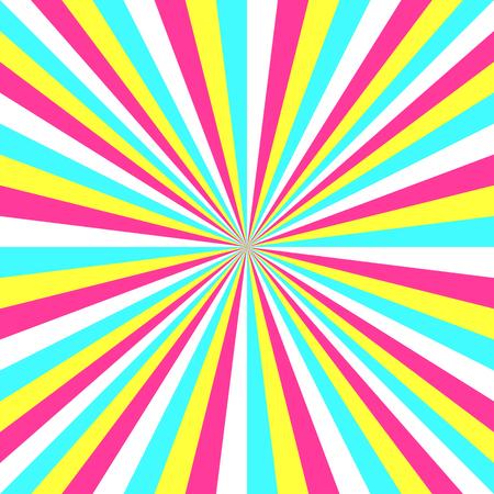 radiate: Sun ray. Abstract light shine background. Illustration