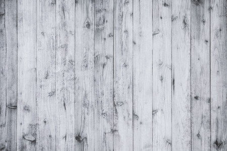 old wood floor: Old white wood floor texture and background. Stock Photo