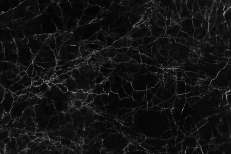 Black marble texture and background for design pattern artwork.